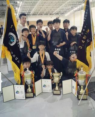 [입상소식] 제2회 청송군수기 전국초등학생검도대회