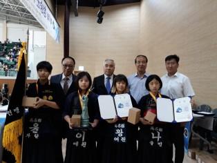 1회 청송군수기 전국초등학생 검도대회