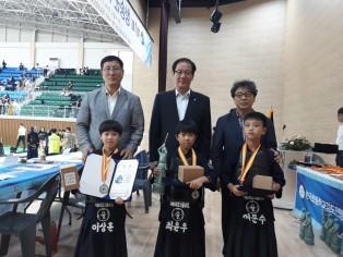 1회 청송군수기 전국초등학생검도대회