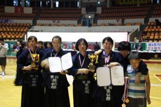 제21회 서울컵 검도대회 여자부