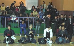 제1회성동구청장기검도대회 시범경기선수들2