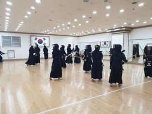 오늘도 화이팅 넘치는 인천검도  강인검도관 !