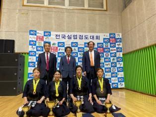 제6회 회장배 전국실업검도 선수권대회 (여자부 개인전)